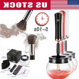 Electric Makeup Brush Cleaner Automatic Cosmetic Dryer Clean