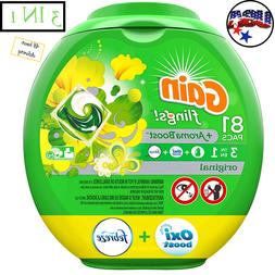 flings laundry detergent pacs