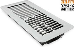 Floor Vent Register Deflector Cover Heating Conditioning Sup