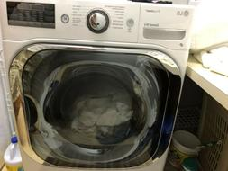 LG Gas Dryer With True Steam 9.0 Capacity Half Price Used On