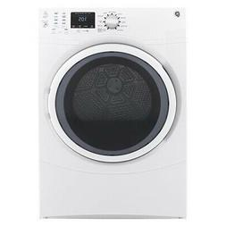 "GE GFD43ESSMWW 27"" White Front Load Electric Dryer 7.5cu.ft."