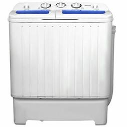 Giantex Portable Mini Compact Twin Tub 11lb Washing Machine