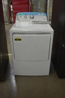 "GE GTD33EASKWW 27"" White Front Load Electric Dryer NOB #1029"