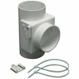 Lambro 1700 Heat Economizer White Plastic Dryer Vent Use wit