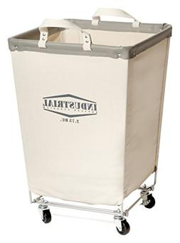 Heavy Duty Canvas Commercial Laundry Hamper Storage Organize