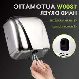 1800W Stainless Steel Automatic Electric Hand Dryer Machine
