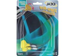 IDEAL 5Y064V Hose Clamp Turn-Key 2-1/2 to 4-1/2 Ideal 2-Pack
