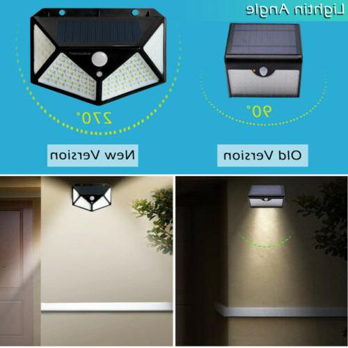 100 Light Wireless Sensor Garden Lamp