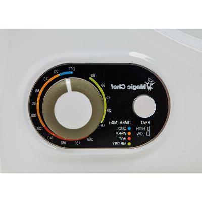 Magic Chef Dryer 1.5 cu. White Stainless