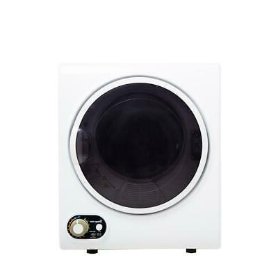 electric dryer 1 5 cu ft white