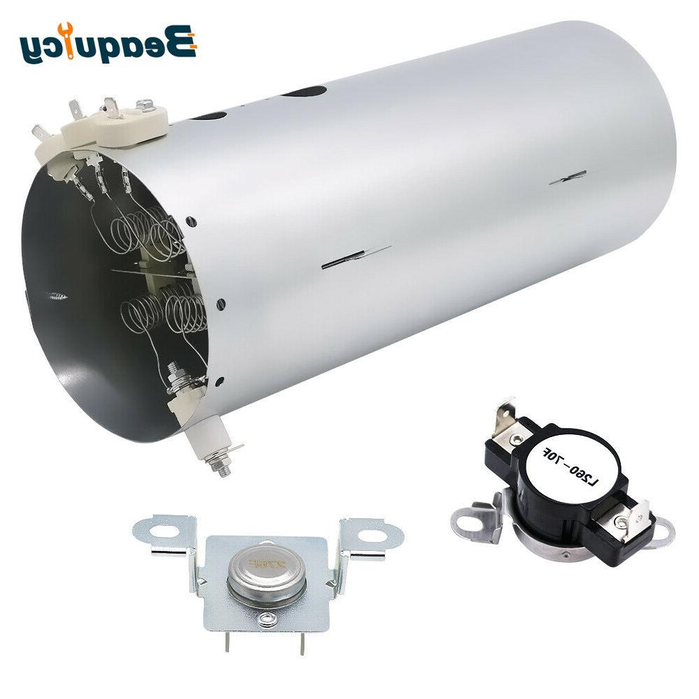 134792700 and 137032600 and 3204267 dryer heating
