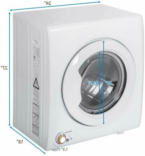 1400W 2.65 Cu.Ft Laundry Portable Clothes