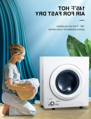 1400W Compact Laundry Portable Steel 2.65