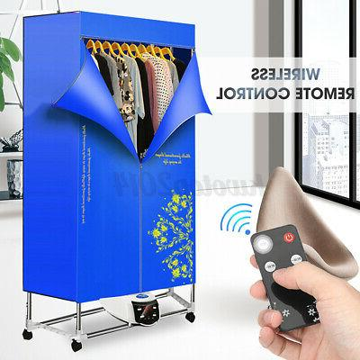 1500W Electric Air Clothes Dryer Rack Folding Drying