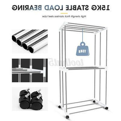1500W Foldable Electric Clothing Dryer 110-240V Drying