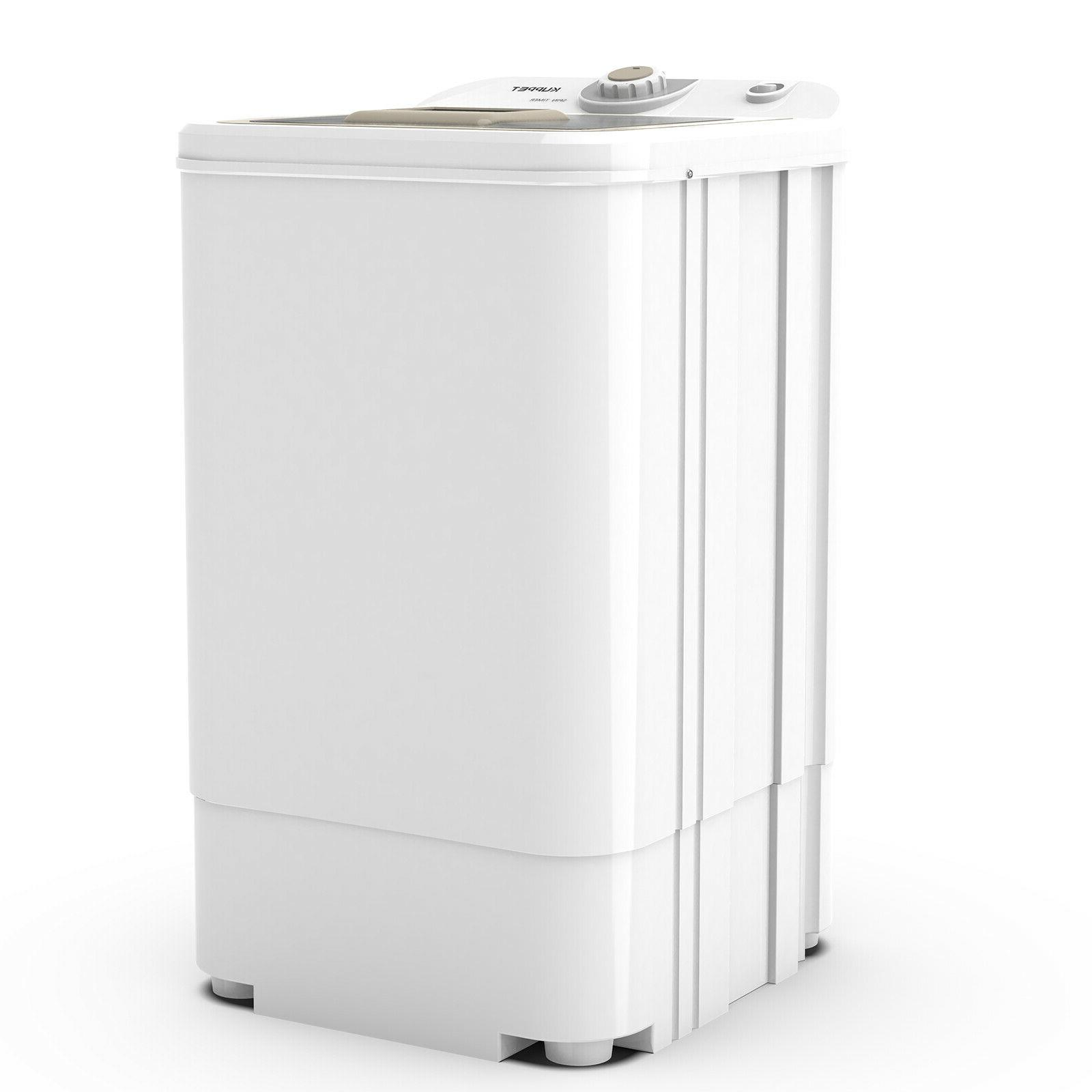17.6 Compact Mini Dryer Draining RPM Laundry Home White