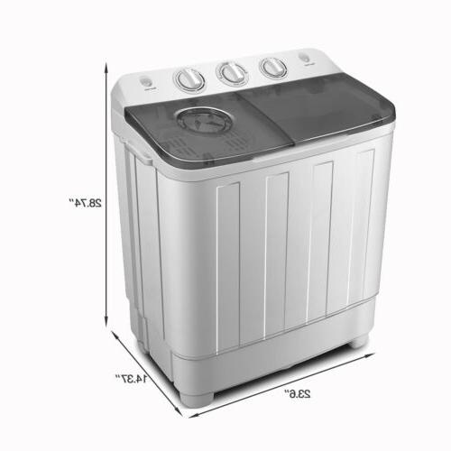 17lbs Portable Compact Mini Laundry Washer