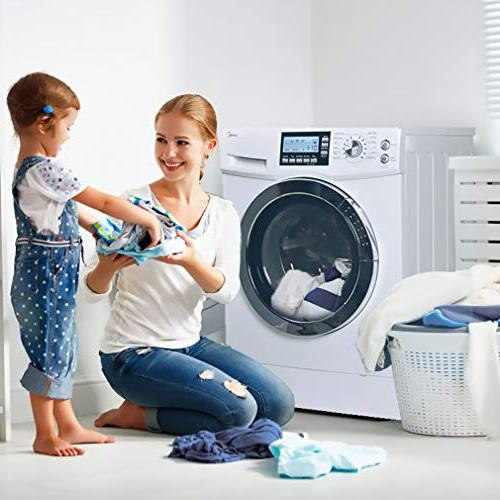 "24"" Combo Compact Laundry with 2.0 ft. Capacity and Drum Auto White"