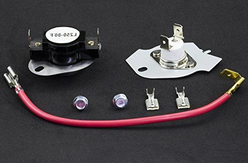 279816 Thermostat Replacement by - for Whirlpool & Kenmore - - AP3094244