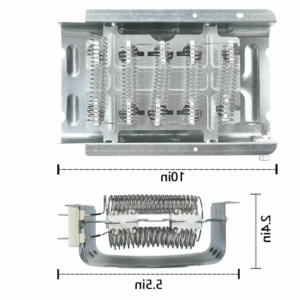279838 Dryer Heating Element Assembly,Replacement for