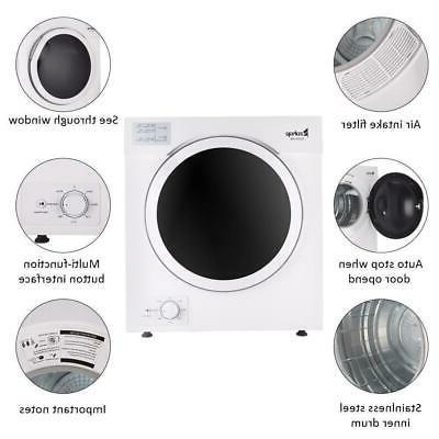 Laundry Dryer 12LBS Stainless Steel
