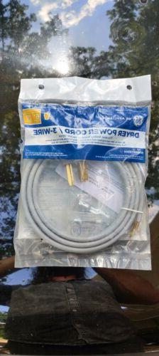 GE 3 Wire Universal Dryer Cord  New 3 Prong
