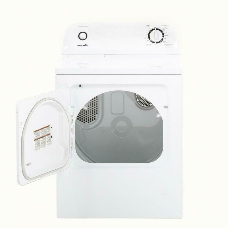 6.5 120-Volt White Vented Dryer