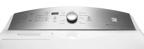 Kenmore ft. Gas Dryer with Glass Door White includes