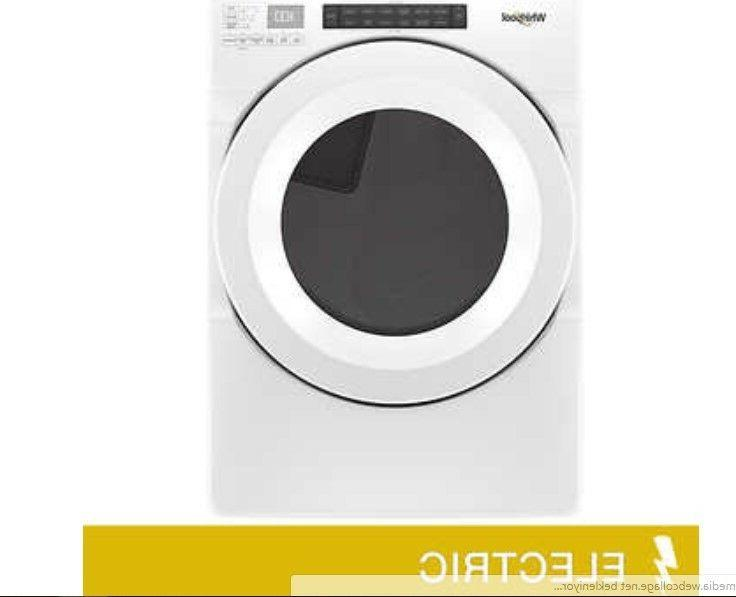 7 4cuft electric dryer with advanced moisture