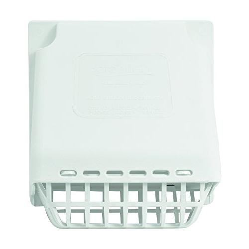 Deflecto Wide Mouth Vent Hood with Bird 4 Inches Hood,