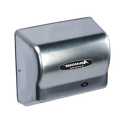 ad90 ss stainless steel advantage hand dryer