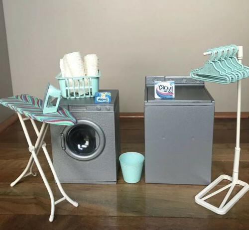 BARBIE JOE 1:6 LAUNDRY ROOM WASHER ACCESSORIES