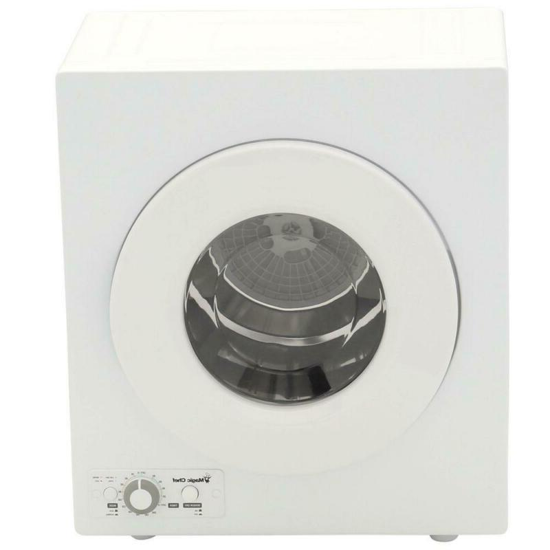 compact 2 6 cu ft electric dryer