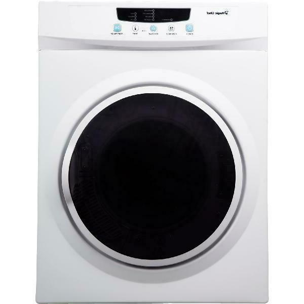 compact electric dryer white 3 5 cu