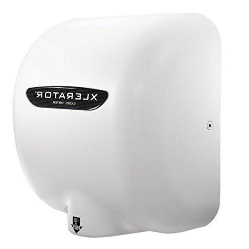 XLERATOR XL-BW Automatic High Speed Hand Dryer with White Th