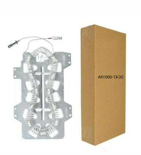 dc47 00019a dryer heating element samsung replacement