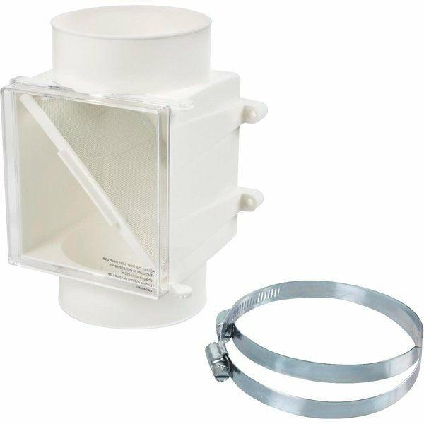 """PROCLEAN LINT TRAP - PLASTIC FITS ALL 4"""" DRYER DUCTS"""