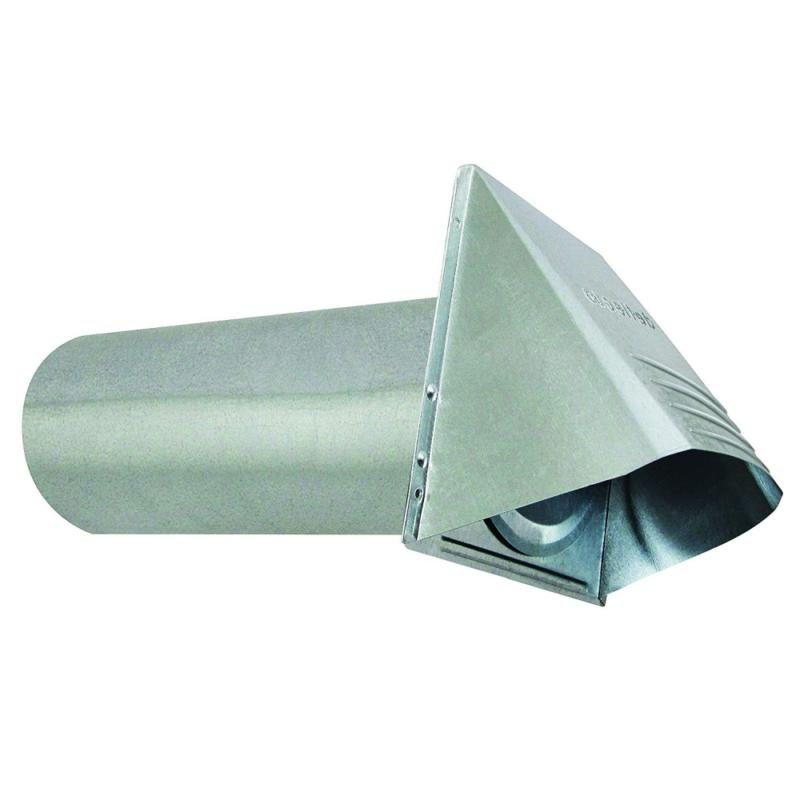 dryer vent wide mouth galvanized hood 4