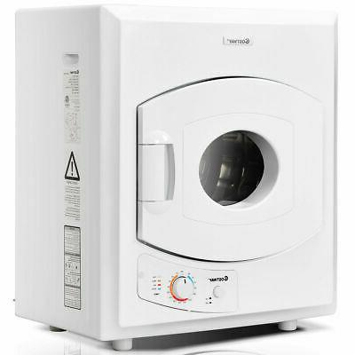 electric tumble compact laundry dryer stainless steel