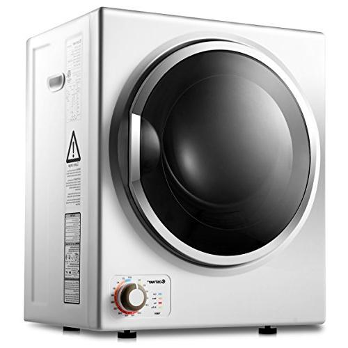 electric tumble dryer compact stainless
