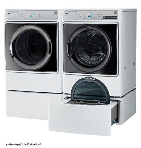 Kenmore cu. Dryer with Accela Technology in White - and hookup