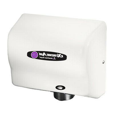 extremeair cpc9 hand dryer white abs universal