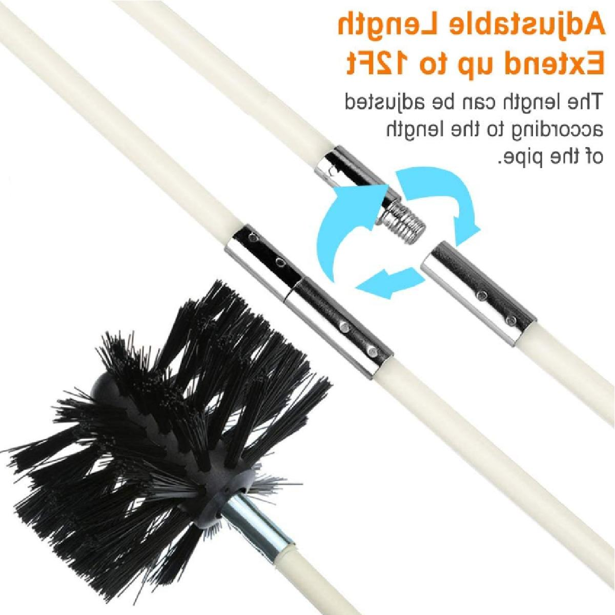 Flexible Vent Kit, Remover, Extends up Feets 9
