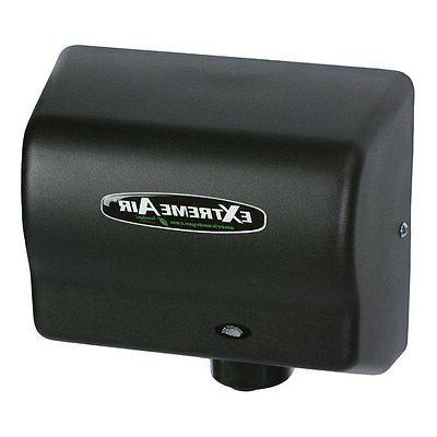 gxt series automatic hand dryer steel black