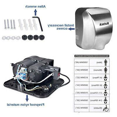 High 1800W Automatic Duty Stainless