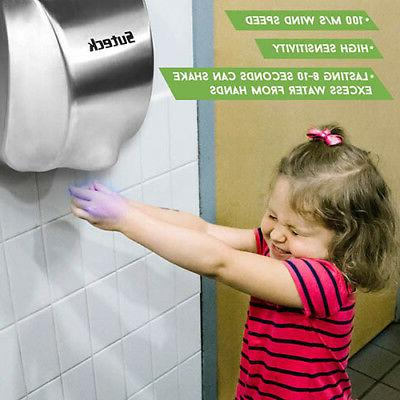 High Hand Dryer Duty Stainless Steel