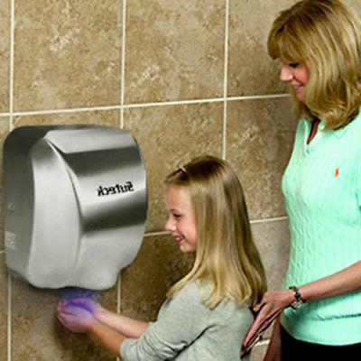 high speed 1800w automatic hand dryer commercial