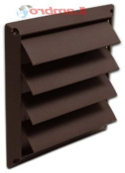 "Lambro Industries, Inc.-6"" Brown Plastic Louver Vent . Item"