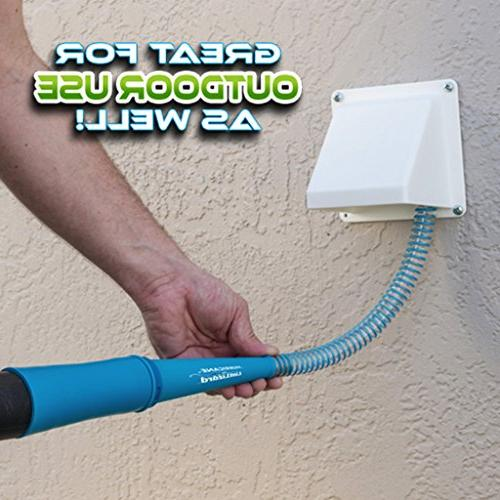 Hurricane Official As On Lint Vacuum Hose Attachment BulbHead, Removes Your Vent,