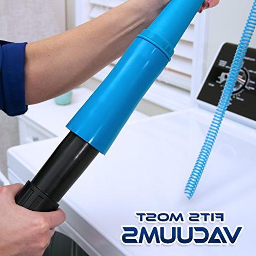 Hurricane On Lint Vacuum by BulbHead, Removes Lint Your Dryer Power Clean Appliance